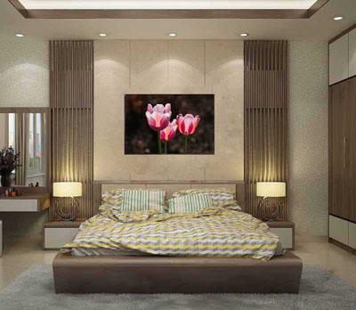 Tranh Hoa Treo Tường Phòng Ngủ 1 bức G29