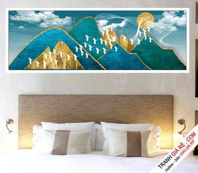 Tranh Treo Tường Phòng Ngủ Khách Sạn 1 bức G12