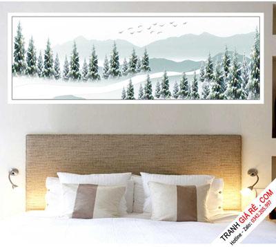 Tranh Treo Tường Phòng Ngủ Khách Sạn 1 bức G19