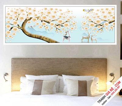Tranh Treo Tường Phòng Ngủ Khách Sạn 1 bức G4