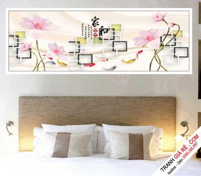 Tranh Treo Tường Phòng Ngủ Khách Sạn 1 bức G7