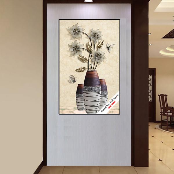 Tranh Hoa Treo Tường Phòng Khách 1 bức G98